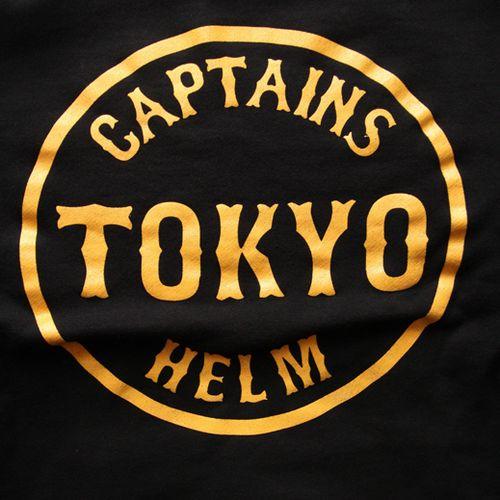 CAPTAINS HELMのCIRCLE TOKYO HOODIEアップしました。