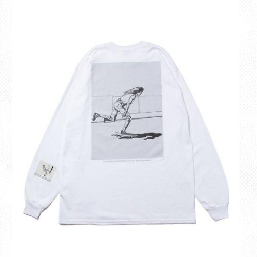 話題の浅野忠信×Rottweiler ロングスリーブTシャツ